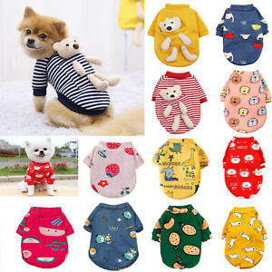 Pet Clothes Small Dog Fleece Sweater Jumper Yorkie Chihuahua Puppy Coat Jacket