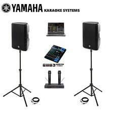 Yamaha DBR10 MG10XU DJ and Karaoke System Professional Machine LAPTOP COMPUTER