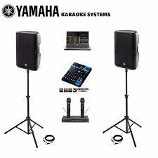 NEW Best Karaoke DJ SYSTEM LAPTOP Professional YAMAHA SPEAKERS DBR10