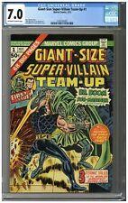 Giant-Size Super-Villain Team-Up #1 CGC 7.0