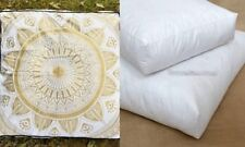 Indian Mandala Floor Pillow Tapestry Meditation Cushion Cover Dog Bed Square 35""