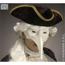 Plain White Bird Eye Mask - Venice Paintable Masks Eyemasks Disguises Fancy