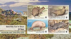 Australia 2011 WWF 50 Years Joint Issue MS - TEXPEX Texas Stamp Show 2013