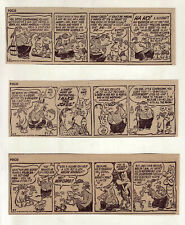 Pogo by Walt Kelly - 25 daily comic strips - Complete September 1956