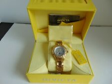Invicta Women's 6891 Pro Diver Collection GMT 18k Gold-plated Stainless Steel Watch
