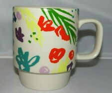 Starbucks 2016 MultiColored Spring Flowers 2016 STARBUCKS Stackable Cup Mug
