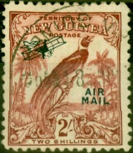 New Guinea 1932 2s Dull Lake SG200 Fine Used