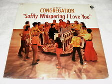 """Mike Curb Congregation """"Softly Whispering I Love You"""" 1972 Pop LP, SEALED!, Orig"""