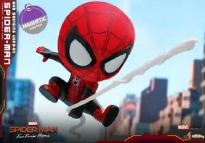 Hot Toys COSB631 Spider-Man WEB SWINGING VERSION COSBABY(S) BOBBLE-HEAD Figure