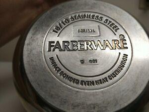 Farberware Classic 1 Qt 18/10 Stainless Impact Bonded Bottom Saucepan no Lid
