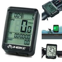 Wireless Cycling Bike Computer Bicycle Waterproof LED Speedometer Odometer Best