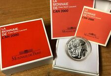 France 2000 Yves Saint Laurent 10 Francs Silver Proof - Francia argent Silber