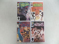 NEW MUTANTS 4 ISSUE COMIC RUN LOT 25 26 27 28 MARVEL LEGION