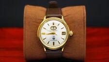 1960 vintage Citizen automatico Dater 7 PARA 40M PIASTRA d'oro dell'acqua 19 Gioielli automatico