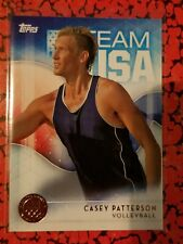 2016 Topps US Olympic Team USA Bronze #42 Casey Patterson  Volleyball