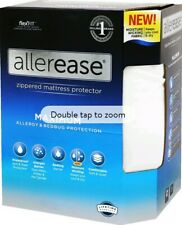 AllerEase Maximum Allergy & Bedbug Mattress Protection Zippered (King Size) NEW