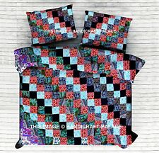 Indian Hippie Mandala Doona Duvet Cover Queen Quilt Handmade Duvet Blanket Cover