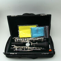 1pcs oboe kit C key mixed wooden body cupronickel parts silver plated