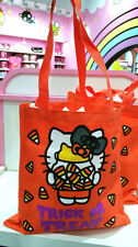 Hello Kitty Universal Studios Orange Halloween Candy Trick or Treat Bag