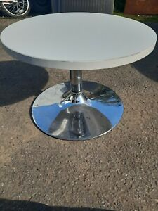 Retro style round table project