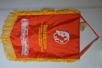 Soviet Union USSR Russian Pennant Flag Banner Communist Propaganda LENIN