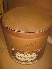 Vintage ?? Pilgrim Brown Color Large Hat Empty Box