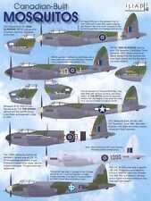 Iliad Decals 1/48 CANADIAN BUILT MOSQUITOS British WWII Fighter Bomber