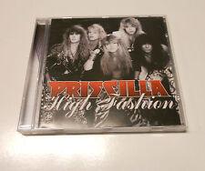 """Priscilla """"High Fashion"""" Rare 2010 cd  Suncity Records"""