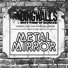 METAL MIRROR - LIVE IN LONDON 1981 (DINGSWALLS TAPES)   CD NEU