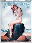 1920's La Vie Parisienne French Nouveau Nude Girl Art Print Poster