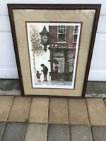 """Gary Hinte Color Serigraph Hand Signed Artwork Painting #260 25 1/2"""" x 19 1/2"""""""
