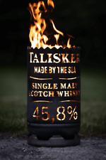 Talisker Whisky Feuertonne 60 cm hoch und 33cm Ø