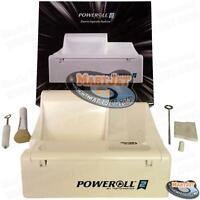 PoweRoll 2 TOP-O-Matic Electric Cigarettes Maker Machine Making Kings 100mm Long