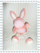 B - Doudou Peluche Musicale Cheval Ane Rose Tex Baby
