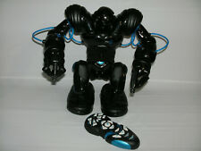 2004 WowWee Robosapien Blue Bluetooth Capable Remote Control Robot WORKING
