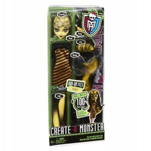 Monster High Create A Monster Bee Girl NEU UND OVP W9176