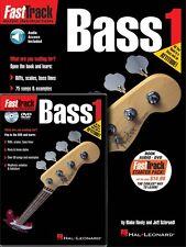 FastTrack Bass Method Starter Pack - Book Online Audio DVD Pack Music 000696404
