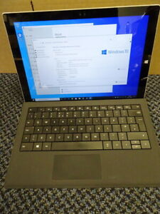 Microsoft Surface Pro 3 64GB, Wi-Fi, 12 inch , i3 1.5ghz,4gb , 64gb SSD -Silver.