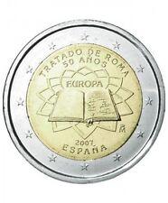 Pièce commémorative d' Espagne 2007 ( Traité de Rome )