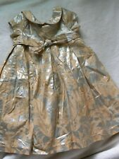 Cherokee Silver And Tan 18 Month Special Occassion Dress