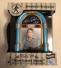 Retired American Greetings Elvis Presley Musical Blue Suede Shoes