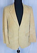 Mens Western Corduroy Sportcoat Blazer Jacket Elbow Patches 42L JC Penney