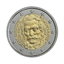 """Slovakia 2 Euro commemorative coin 2015 """"Ludovit Stur"""" UNC"""