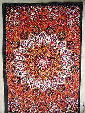 Mandala Star Hippie Wall Hanging Queen Bohemian Divine Fire Psychedelic Tapestry