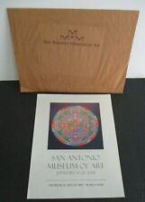 SAN ANTONIO MUSEUM OF ART Mystical Arts of Tibet World Tour Exhibition Poster