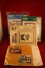 Lot of Four (4) Cross Stitch Complete Un-Opened Kits
