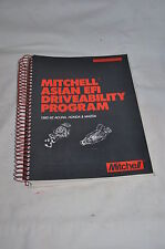 MITCHELL ASIAN EFI DRIVEABILITY PROGRAM 1985-92  ACURA, HONDA MAZDA  BOOK MANUAL