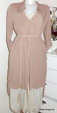Ester Elenora Hemd- Robe avec Ceinture Tamara 36, 38, 40 Robe Couleur Sable Rose