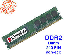 Mémoire 1GO DDR2 PC2-4200 Kingston KC6844-ELG37 533MHZ 1GB PC memory