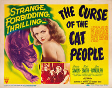 The Curse of the Cat People (1944) Boris Karloff Horror movie poster print 3